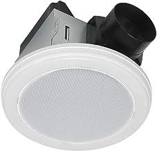Home Netwerks 7130-08-BT 70 CFM Stereo Speaker Bathroom Exhaust Fan W/LED Light