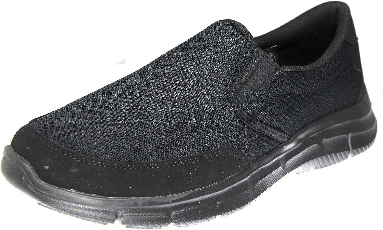 Skechers Equalizer Persistent Persistent Persistent Herren-Sneaker, Schwarz - schwarz / schwarz - Größe: 45 XW EU B078QXW3M6  41a568