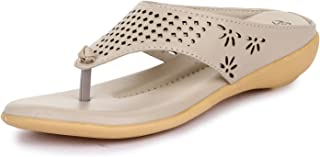 Style Panda Women's Synthetic Flat Doctor Slippers
