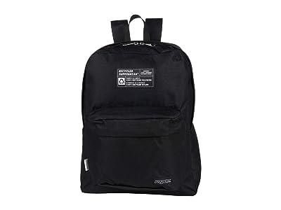 JanSport Recycled Superbreak(r) (Black) Backpack Bags