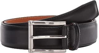 Men's Carbon Cognac Belt Black 36