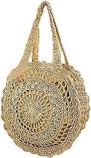 Donalworld Women Beach Bag Large Crochet Shoulder Summer Bag Ap