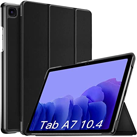 """ProElite Smart Trifold Flip case Cover for Samsung Galaxy Tab A7 10.4"""" SM-T500/T505/T507, Black"""