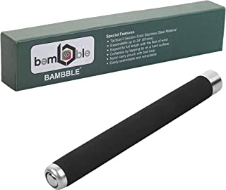 BAMBBLE Universal Multipurpose 2 Fold Telescopic Hand-Stick for Home Outdoor and Travelling