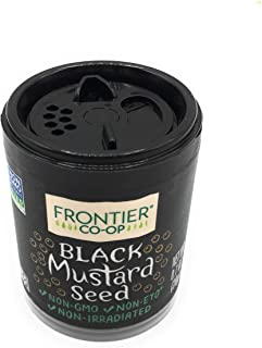 Frontier, Mustard Seed Black, 0.5 Ounce