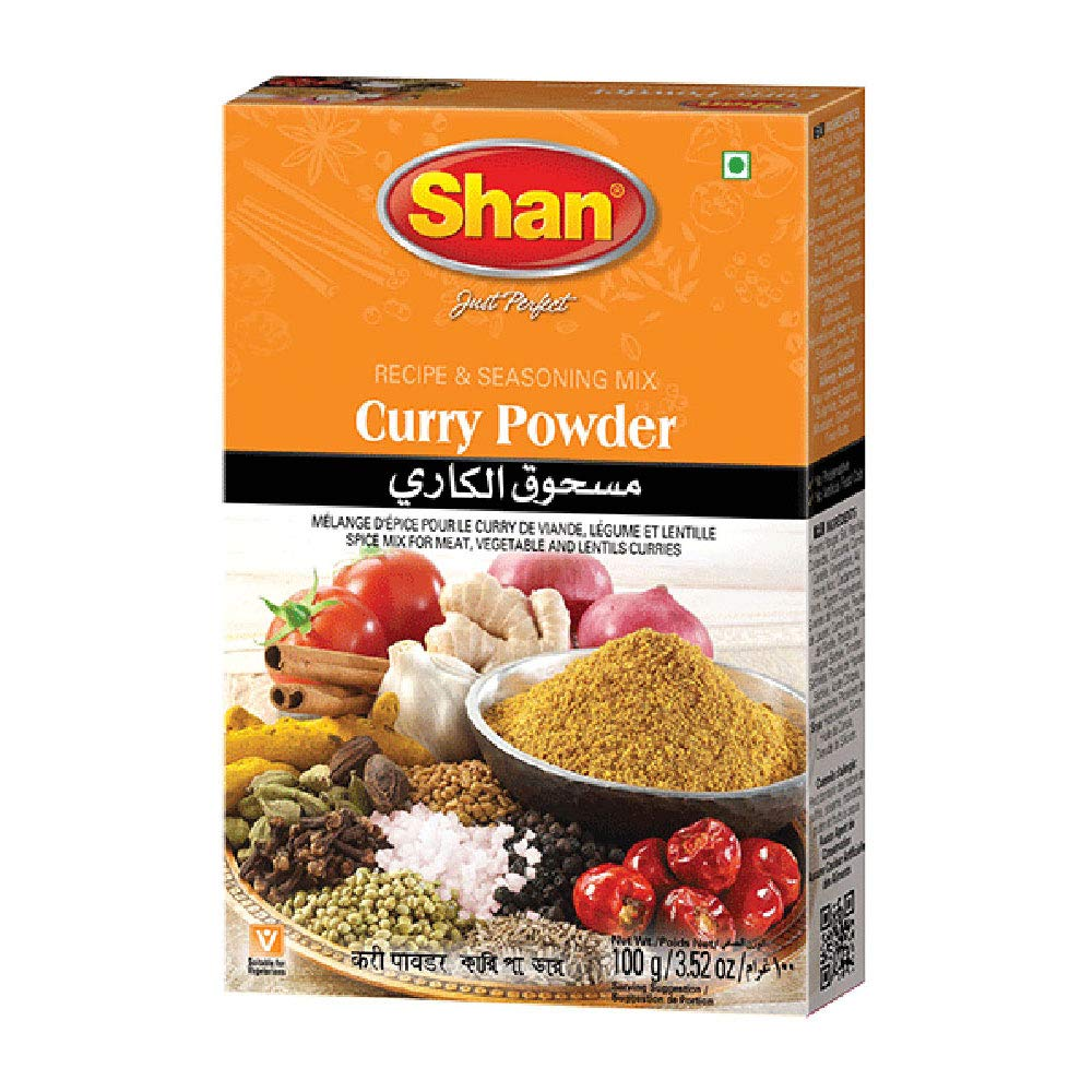 Shan Curry Powder Max 68% OFF Recipe and Seasoning - SALENEW very popular 100g 3.52 Spic oz Mix