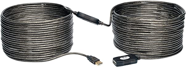 Tripp Lite USB 2.0 Hi-Speed Active Extension Repeater Cable (A M/F) 20 Meter (65-ft.) (U026-20M)