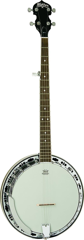 Seasonal Wrap Introduction Washburn Americana Series B11K-A Natural free shipping 5 String Banjo