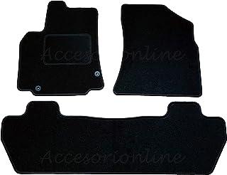 Ajuste Perfecto Goma negro durable Coche Tapetes Para Citroen Berlingo Van 2008 />