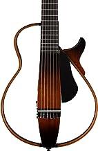 Yamaha SLG200N Nylon String Silent Guitar, Tobacco Sunburst