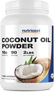 Nutricost Coconut Oil Powder 2 LBS (90 Servings) - Non-GMO and Gluten-Free - Premium Quality