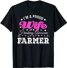 Funny Farmer's Wife T-Shirt Anniversary Gift