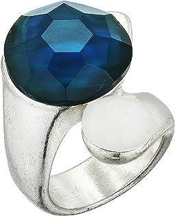 Double Stone Wrap Ring