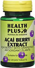 Health Plus Acai Berry Extract Weight Management And Antioxidant Plant Supplement – 60 Tablets Estimated Price : £ 12,95