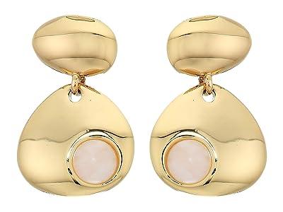 Rebecca Minkoff Chubby Multi Drop Earrings (Gold) Earring
