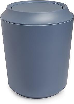umbra スイングフタ付きゴミ箱 FIBOO WASTE CAN WITH LID(ファイブー ウェイストカン) ミストブルー 8L