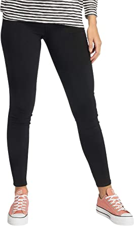 PIECES Pcskin Wear Jeggings Black/noos, Jeans Mujer