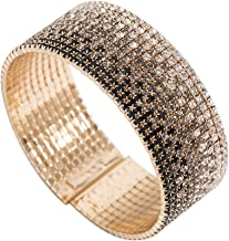 FUFENG CROWN Dawn Light Rhinestone Bracelets