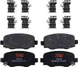 TRW TPC1734 Premium Ceramic Rear Disc Brake Pad Set