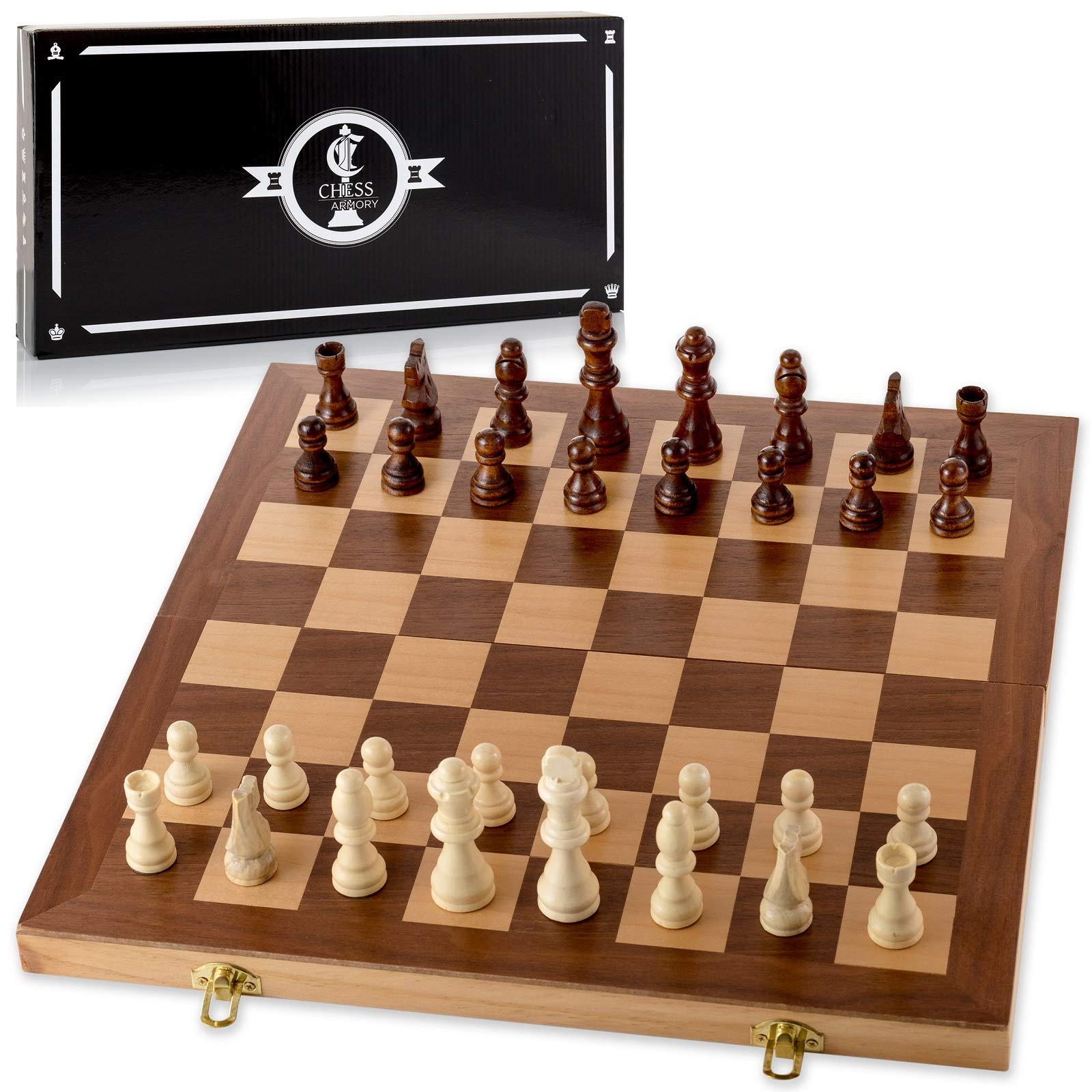 Chess Armory Wooden Interior Storage