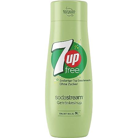 Sodastream Concentré 7UP Free – Sans Sucres – 100% du Goût Original – Avec Bouchon Doseur – 440 ml