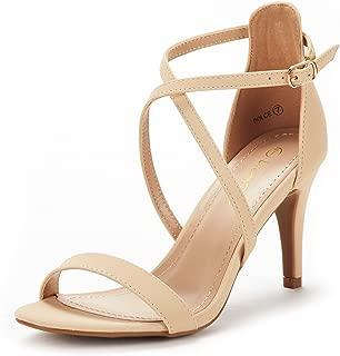 Women's Dolce Fashion Stilettos Open Toe Pump Heel Sandals