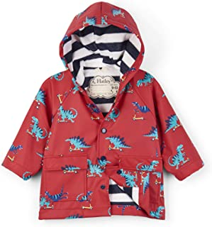 Baby Boys Classic Printed Raincoat