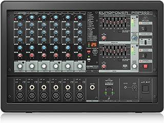 Behringer PMP560M mezclador DJ - Mezclador para DJ (20-20000 Hz)