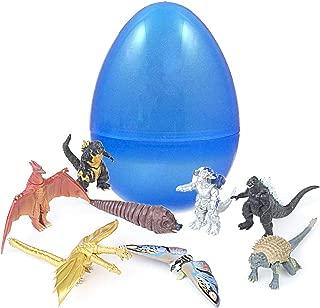 PARK AVE 8 Godzilla King of All Monsters Figurines Inside 8 Inch Jumbo Plastic Easter Egg