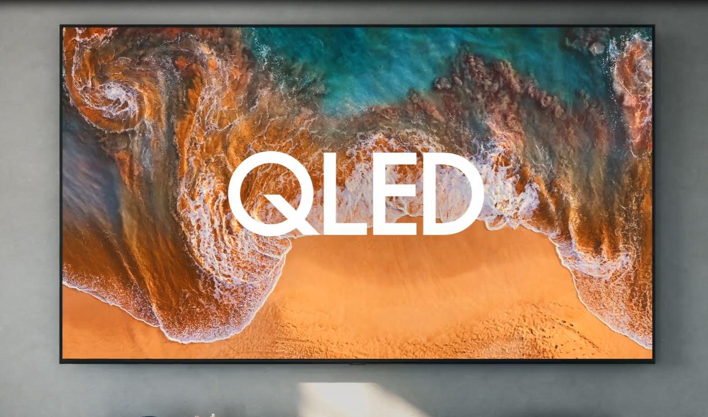 SAMSUNG 65-inch class QLED smart TV