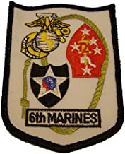 6th MARINES REGIMENT PATCH - Color - Veteran Owned Business