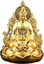 Home Accessories Creativity Guan Yin Buddha Statue Figurine, Meditating Double Sided Quan Yin Sculpture Ornament, Kuan Yin...