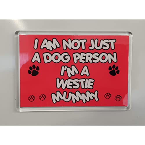 Ideal Present//Gift I Am Not Just a Dog Person I/'m a Westie Daddy Keyring