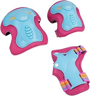 HUDORA 83317 Protektorer Barn Skate Wonders, S, Rosa
