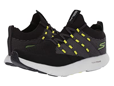 SKECHERS Go Run 7 (Black/White) Men