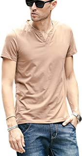 Jueshanzj Men's Casual Solid Color T-shirt