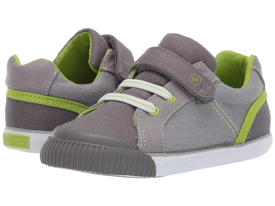 Stride Rite SR Parker (Toddler) (Grey) Boys Shoes