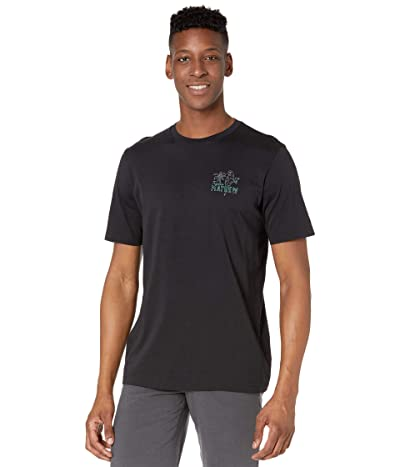 TravisMathew Party Parrot Tee (Black) Men