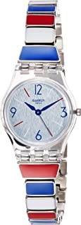 SWATCH Miss Mariniere Lady's Stainless Steel Watch LK364G