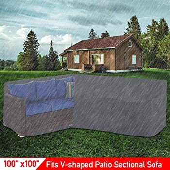 Size 2.8 M X Rain Protection Cover Large Patio Set Outdoor Garden Furniture
