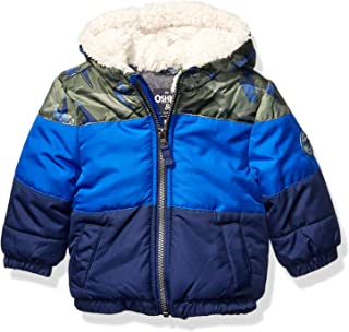 Boys' Heavyweight Winter Jacket W/Sherpa Lining