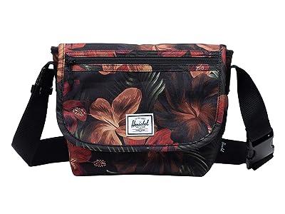 Herschel Supply Co. Grade Mini (Tropical Hibiscus) Messenger Bags