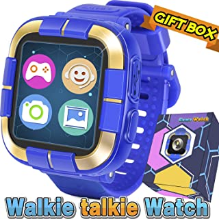 """Symfury Kids Game Smart Watch Boys Girls, 2019 New Digital Wrist Phone Watch with Camera Messaging Pedometer Sport Tracker 1.5"""" Touch Alarm Flashlight Electronic Learning Holiday Toy Birthday Gifts"""