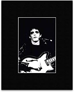 Stick It On Your Wall Lou Reed - London 1972 Kings Cross Mini Poster - 23x16cm