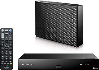 I-O DATA 4Kチューナー 新4K衛星放送対応 録画用HDDセット レコーダー ブラック リモコン付 土日サポート 1年保証 HVT-4KBC4T/E
