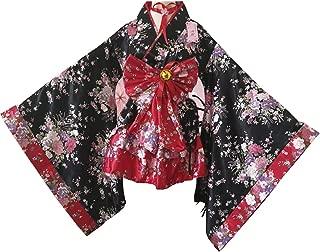 Girl's Anime Cosplay Lolita Dress Cute Halloween Japanese Kimono Cosplay Costume