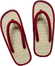 USA STEP Women's Big Girls' Handmade Fashion Indoor Outdoor Home Spa Hotel Straw Summer Flip Flops Sandals Slippers Thong