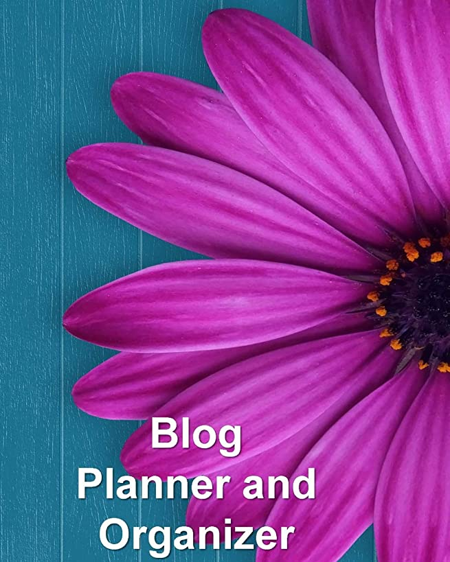 Blog Planner and Organizer: Content Planner for Blog Posts