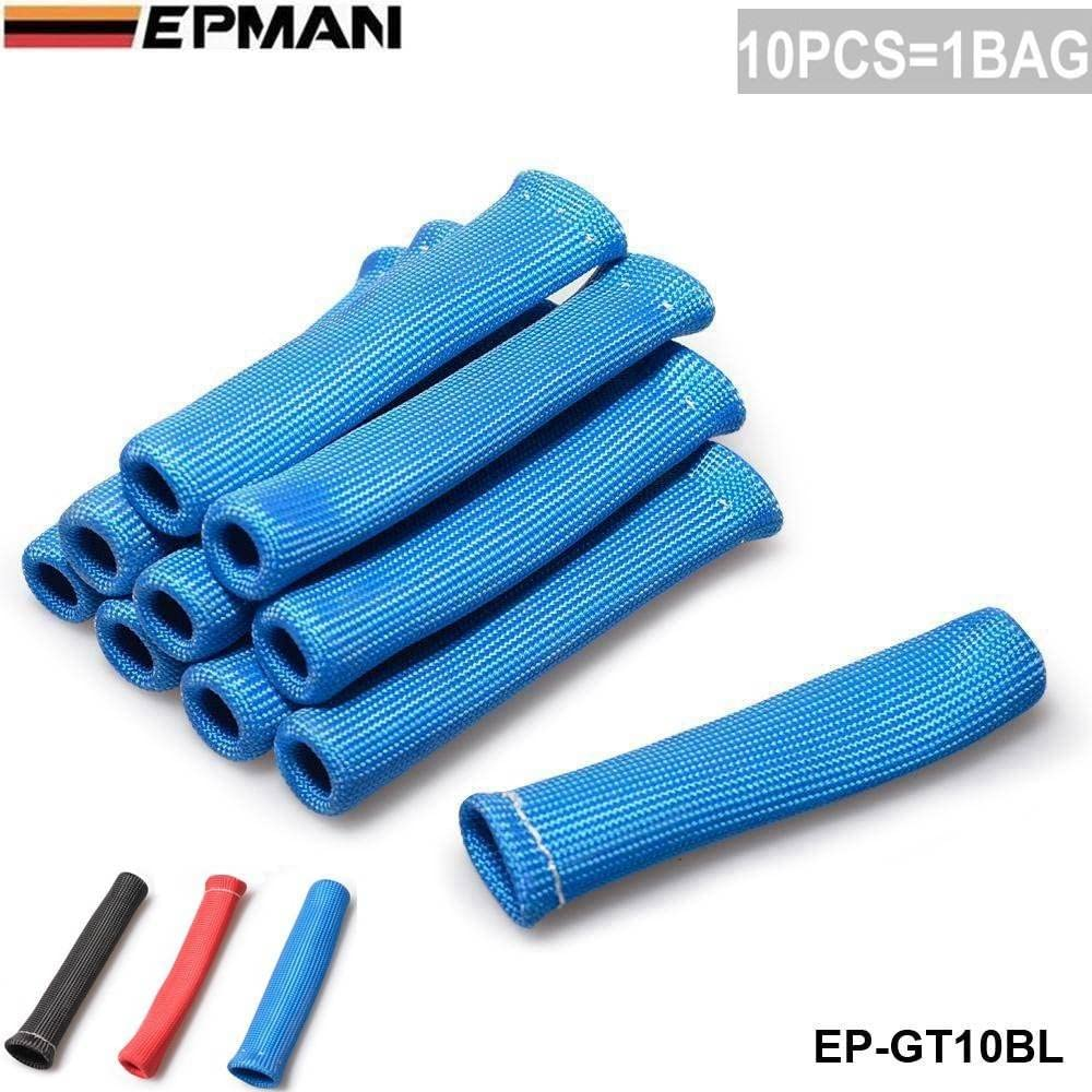EPMAN 10 CYL 1200 Degree Spark Superlatite Wire Protecto Heat Boot Don't miss the campaign Plug High