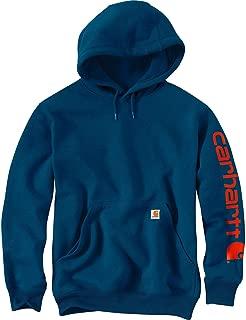Men's Midweight Sleeve Logo Hooded Sweatshirt (Regular...
